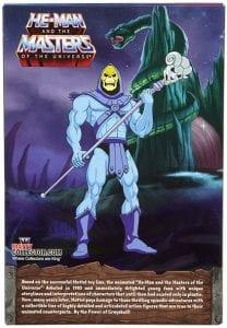 Skeletor Filmation Club Grayskull Box Back
