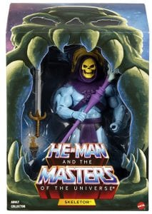 Skeletor Filmation Club Grayskull Box Front
