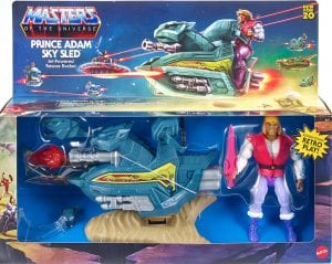 Sky Sled Prince Adam Masters of the Universe Origins Box Front