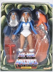 Sorceress Filmation Super7 Masters of the Universe figure box front