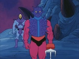 Spikor as he appeared in the Masters of the Universe Cartoon