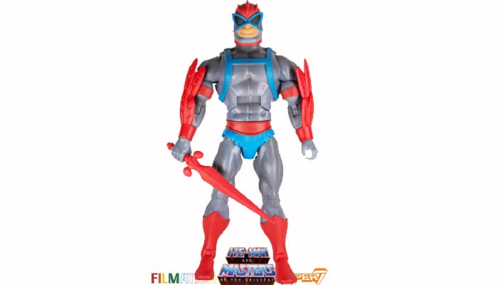 Stratos action figure from the Filmation Super7 Masters of the Universe toy line.