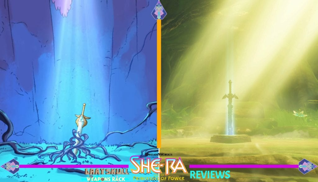 She-Ra's Sword of Protection and Link's Master Sword