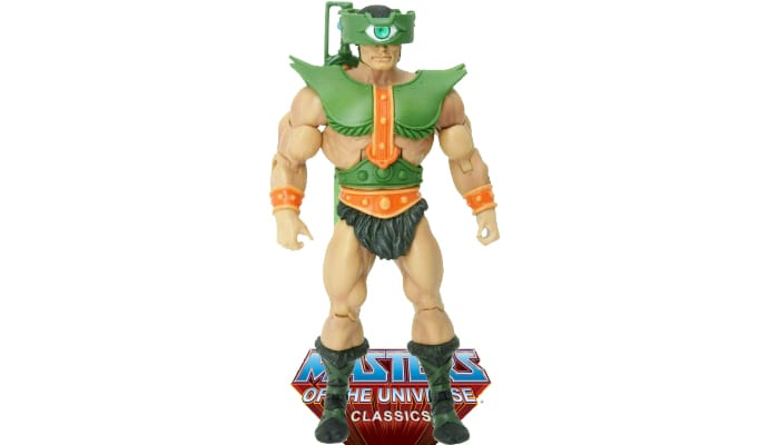 Tri-Klops action figure from the Masters of the Universe Classics toy line.